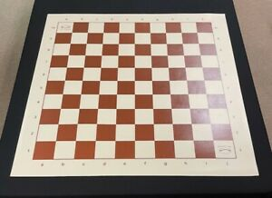 Musketeer Variant Chess Board - Vinyl - 10x10 Square - Brown