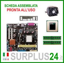 ASUS M2N68-AM + AMD ATHLON 64 X2 5200 + 4GB RAM | Kit Scheda Madre AM2 I/O #2063