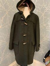 Vintage Mens Wool Dufflecoat By Gloverall Stunning! Paddington Coat Large