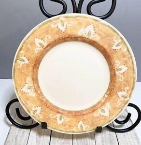 """Pier 1 Moroccan Salad Plate Earthenware England Angleterre 8.375"""" In Diameter"""