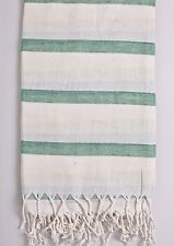 Turkish Towel Peshtemal Double Color Fouta Beach Bath Hammam Towel Pestemal