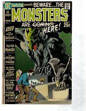 5 DC Comics Special # 11 12 15 + The Geek # 2 + Adventure Comics # 403 LOSH PG2