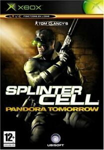 Splinter Cell : Pandora tomorrow de Ubisoft -  XBOX - NEUF