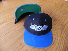ORLANDO MAGIC NBA VINTAGE SNAPBACK RETRO 2-TONE FLAT BILL CAP HAT NEW BLACK/BLUE