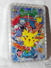 NEW IN BOX POKEMON PIKACHU  PLAYING CARDS DECK