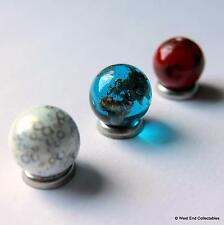 IT's a small world! SUPER Tiny dettagliate globo pianeta MARMO Set - 12mm vetro