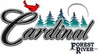 """Cardinal"" RV decal sticker graphic Lettering 23.5"" x 13""  fresh Not Old Stock!"