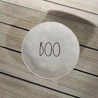 4 Rae Dunn New Halloween Boo Melamine Appetizer Plates Dishes NWT