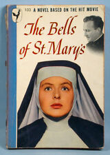 1947 The Bells of St. Mary's Movie Edition Book Bing Crosby Ingrid Bergman