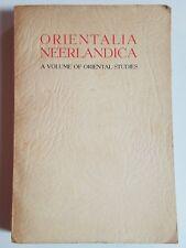 1948 ORIENTALIA NEERLANDICA ORIENTAL STUDIES History Middle East Asia Africa
