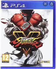 Street Fighter V (5)  'New & Sealed'   *PS4(Four)*