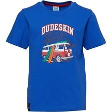 Dudeskin Infant Boys Campervan Print T-shirt Dazzling blue