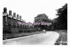 pu1572 - Hatfield , Car by the Almshouses - Yorkshire - photograph