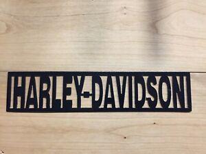 12 inch Harley Davidson Metal Wall Art