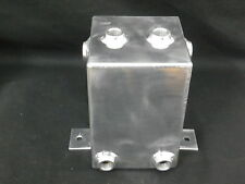 FUEL SURGE TANK 3 LITRE ALUMINIMUM POLISHED