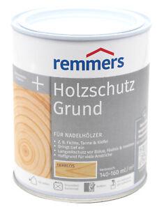 Remmers Holzschutzgrund 0,75L Holzschutz Grund Grundierung