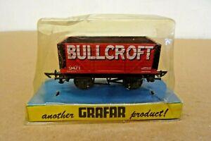GRAFAR BULLCROFT RAILWAY WAGON -  STILL SEALED  - 00 GAUGE.