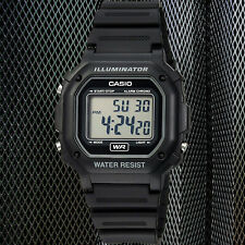 Casio F-108WH-1A Digital Chronograph Watch Resin Band Alarm 7 Year Battery New