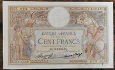 Billet 100 francs LUC OLIVIER MERSON 22 = 2 = 1934 FRANCE S.43324  024