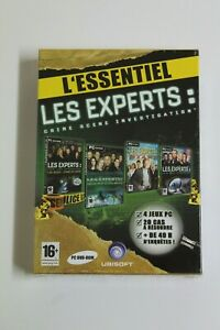 Les Experts: L'Essentiel - Pack 4 Games PC DVD ROM - France New IN Blister