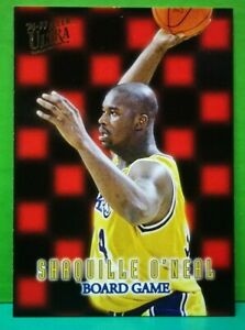 Shaquille O'Neal card Board Game 96-97 Ultra #14