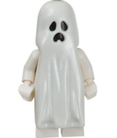 Lego Ghost 9467 with Pointed Top Shroud Monster Fighters Minifigure