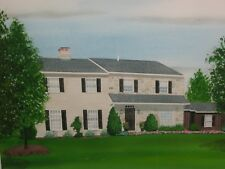 Watercolor Painting Original Art John Maxwell Artist United States