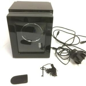 Dukwin Watch Automatic Winder Rotation Watch Display Box Case With Key - Working