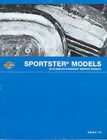 Harley-Davidson 2015 Sportster Models Service  Manual  P/N 99484-15