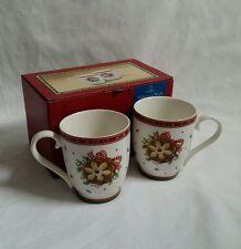 ❀ ڿڰ ❀ Villeroy & Boch Christmas Winter Bakery Delight cookie set de 2 mugs ❀ ڿڰ ❀