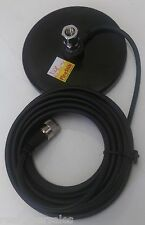 Firestik K-11 Heavy-Duty Magnetic CB Radio Antenna Mag Mount w 18 ft Coax Cable