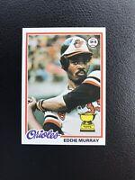 1978 TOPPS #36 EDDIE MURRAY HOF BAL ORIOLES— HOT, HIGH END ROOKIE🔥*** (wph)
