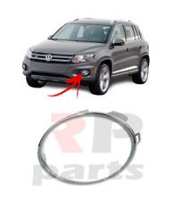 FOR VW TIGUAN 11-16, GOLF VI 08-13 FRONT FOGLIGHT GRILLE CHROME TRIM LEFT N/S