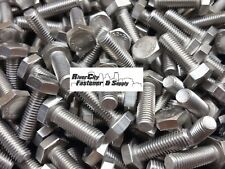 (10) M10-1.5x35 Stainless Steel Hex Head Cap Screws / Bolts 10mm x 35mm