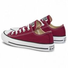 Converse All Star Bordeaux basse low  Maroon in tela Classic