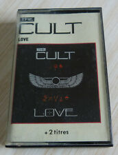 RARE K7 CASSETTE AUDIO TAPE THE CULT LOVE