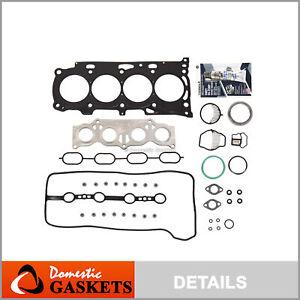 Fits 02-11 Toyota Camry Scion Lexus 2.4L MLS Head Gasket Set 2AZFE Hybrid 2AZFXE