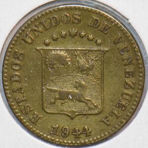 Venezuela 1944 5 Centimos Horse animal 195354 combine shipping