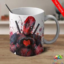 Deadpool Coffee Mug Deadpool Mug Deadpool Watercolor Magic Color Changing Mug