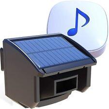 Wireless Solar Powered 14 Mile Long Transmission Driveway Alarm System