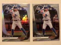 Bo Bichette 2 Card RC lot Prizm Silver and Base Toronto