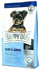 4 kg Welpenfutter, Welpen Spezialfutter Happy Dog Surpreme Mini Baby & Junior