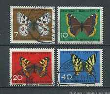 Germany - BRD : Butterflies Semipostal set from 1962 - used