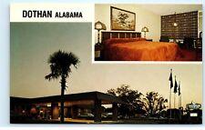 Sheraton Motor Inn Dothan Alabama AL Ross Clark Circle US 231 South Postcard D37