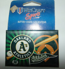 Vintage Oakland A's Athletics MLB Hat Pin Button Pinback Wincraft Collector