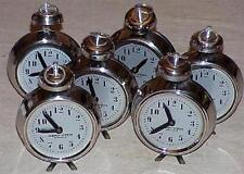 Nesting Metal Production Clocks --Set of SIX --Must be Time for Magic!      TMGS