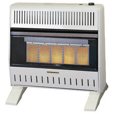 ProCom Heating Dual Fuel Ventless Infrared Gas Space Heater With Blower and Base