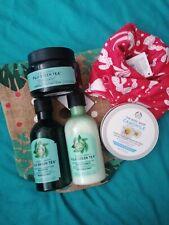 Body Shop, Fuji Hair Care, camomile butter, Wrap, Scrub, Shampoo, Conditioner