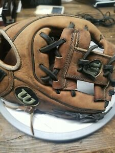 "Wilson  the A2000 1788 /11.25"" Baseball Glove brown, Pro Stock Leather dual welt"