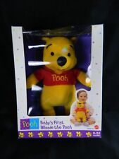 Pooh BABY'S FIRST WINNIE THE POOH Bear Vintage New  Mattel Free Shipping